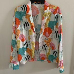 ZARA zoo blouse